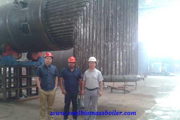 biomass boiler customer from Bangladesh