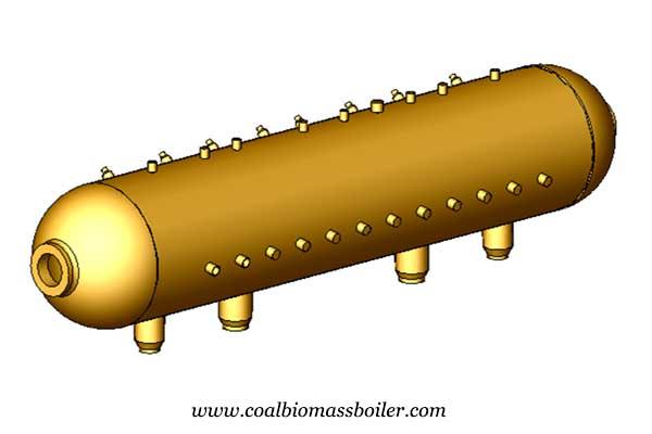 3D design of biomass boiler