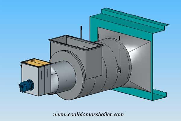 3D design of coal fired boiler product development