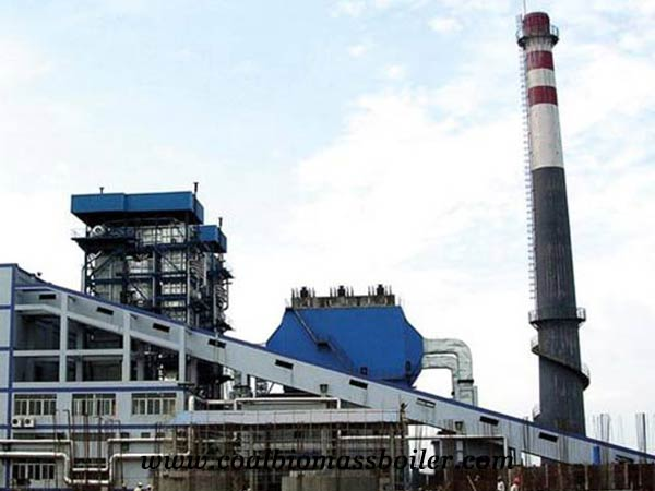 CFB commercial biomass power plant