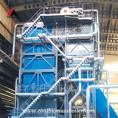 DHW industrial biomass boilers