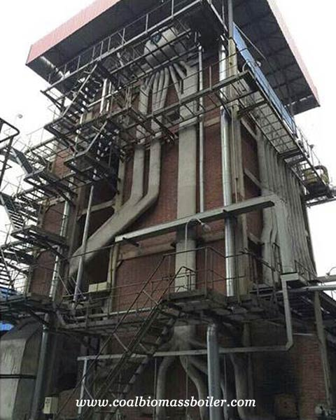 SHL coal fired hot water boiler