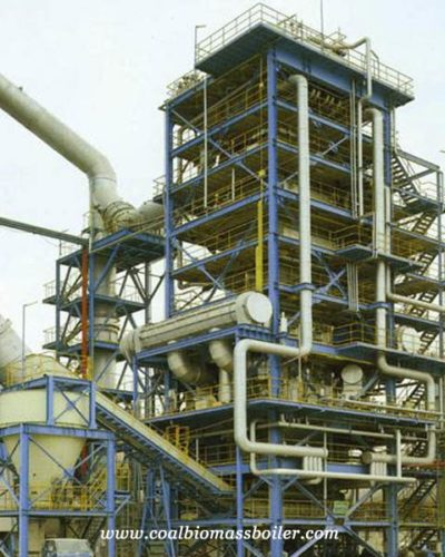 SHL coal fired water boiler