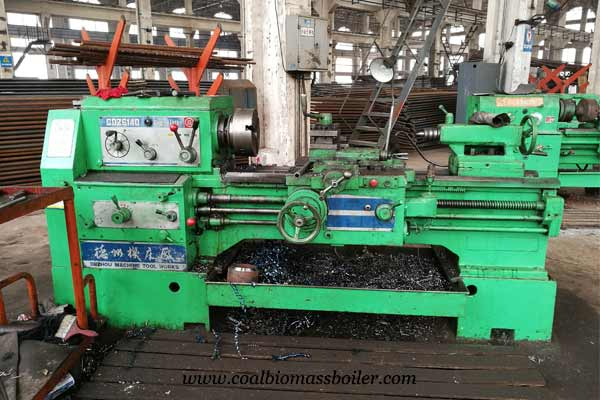 Turning lathe CDZ6140 for coal fired boiler