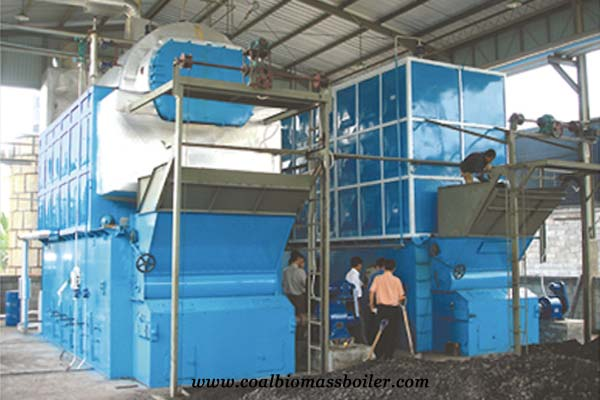 Coal Fired Boiler Run in Indonesia