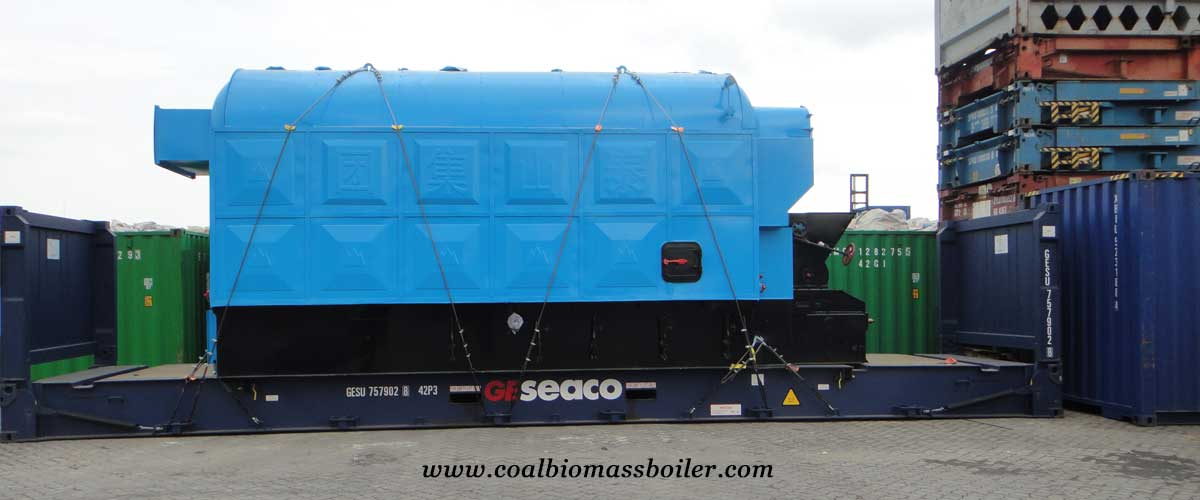 Coal Fired Steam Boiler for Textile factory was shipped to Pakistan