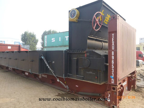 15 ton per hour Anthracite Coal Steam Boiler was Delivered to Vietnam