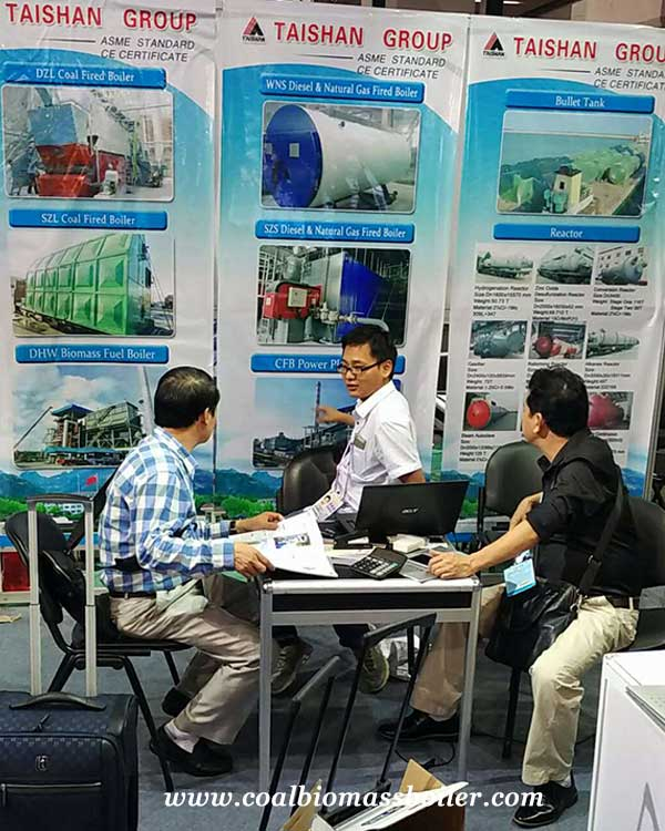 Industrial Boilers were Showed up on the 122th Canton Fair