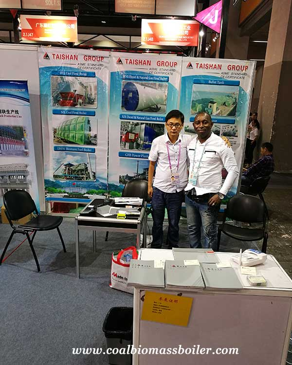 coal fired boiler were Showed up on the 122th Canton Fair