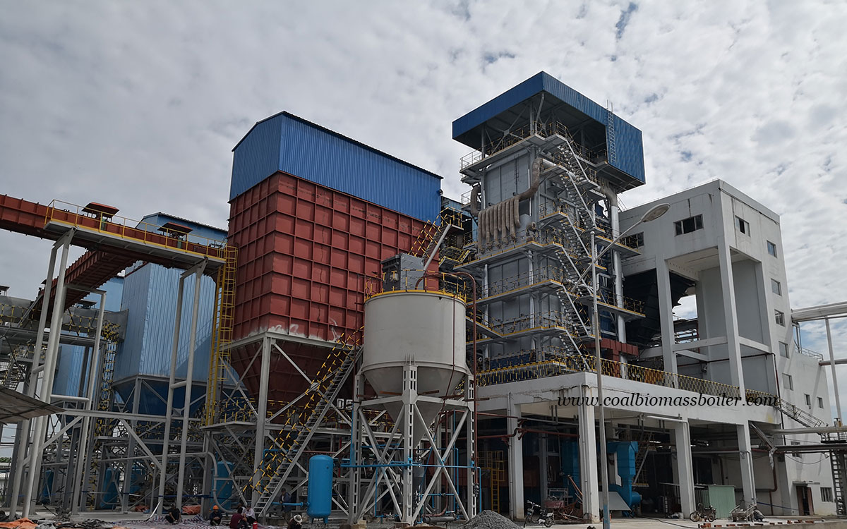 CFB Steam Boiler EPC Project Running in Vietnam