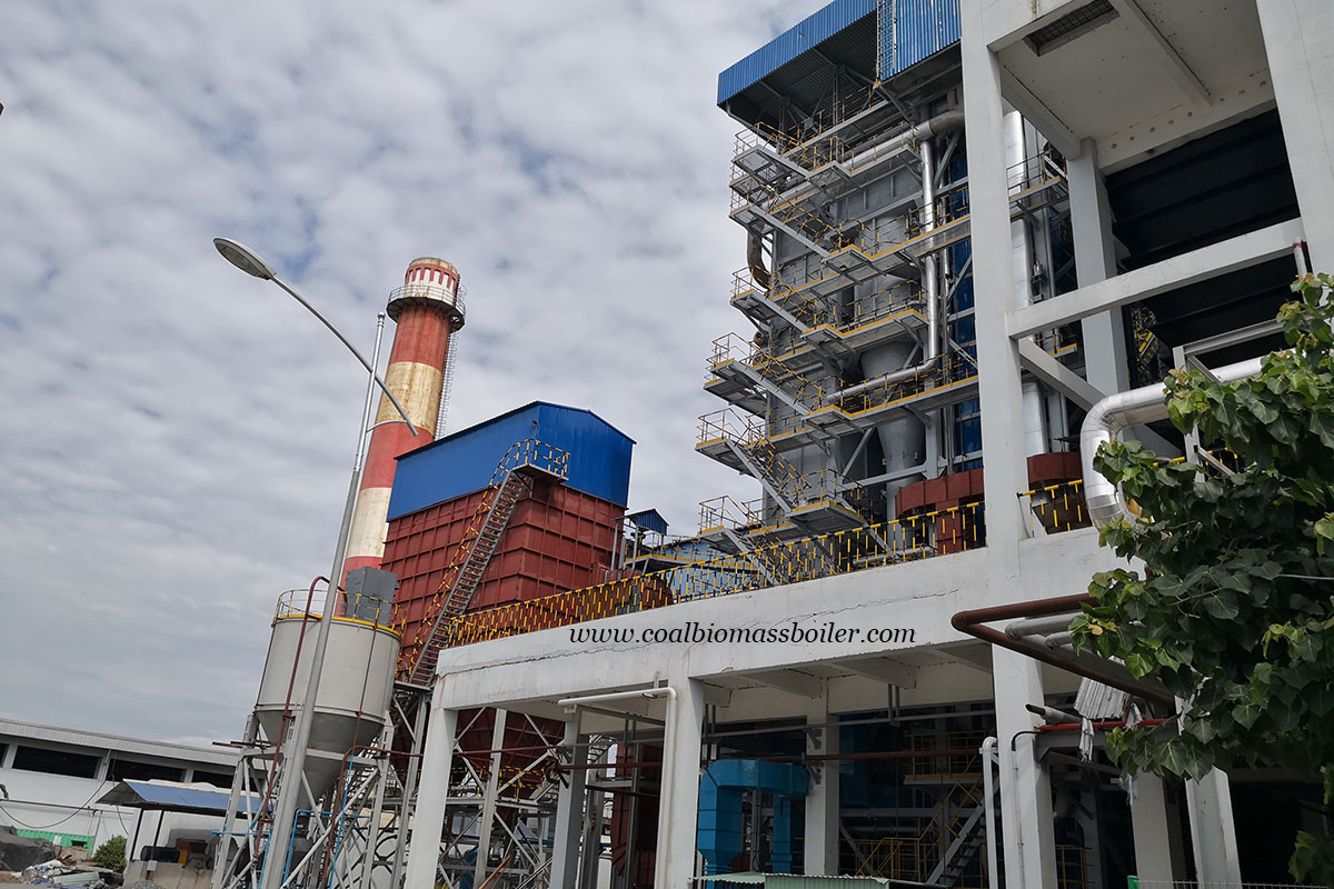 CFB Steam Boiler EPC Project in Vietnam