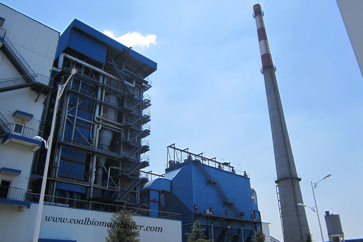 Circulating Fluidized Bed Boiler Used in Salt Manufacturing Factory