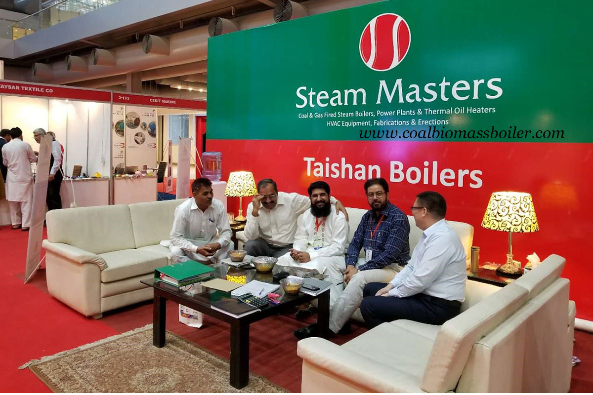 Coal Fired Boiler Manufacturers Attended IGATEX Pakistan