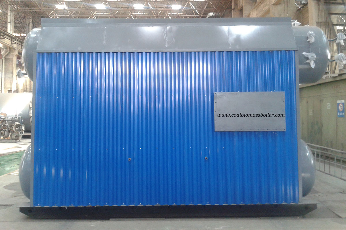 Wood Chip Boiler ASME Standard Exported to South America