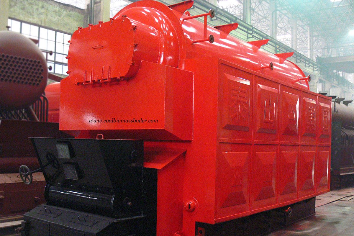 Wood Chip Boiler in ASME Standard Exported to South America