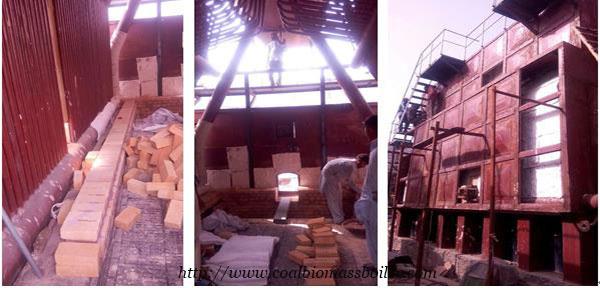 Coal Chain Grate Boiler Installation Pakistan