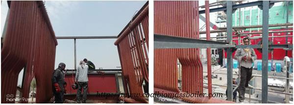 Coal Chain Grate Boiler Installation in Pakistan