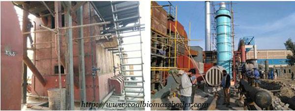 Coal Chain Grate Boiler Installation