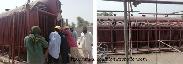 Coal Fired Boiler Installation in Pakistan