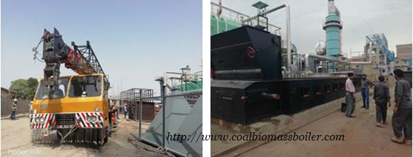 Coal Fired Chain Grate Boiler Installation Pakistan
