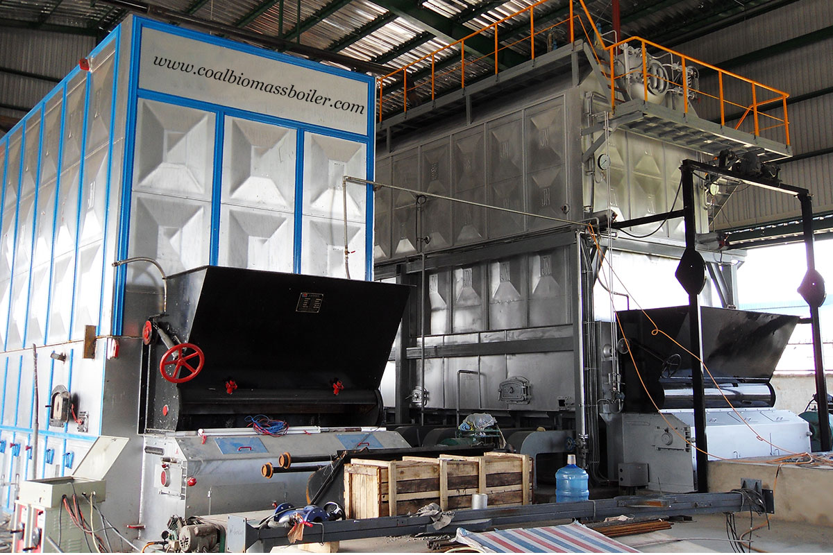 Coal Fired Thermal Oil Boiler Exported to Indonesia