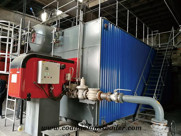 High efficiency gas fired boilers