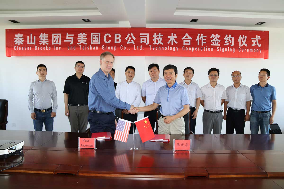 Technical Cooperation with Cleaver-Brooks on Electrode Boiler