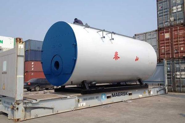 Diesel Boiler Delivered to Angola
