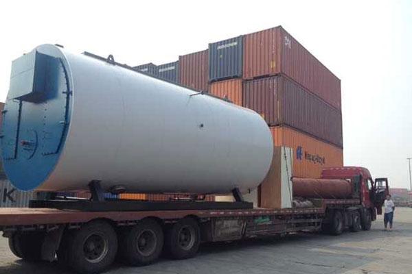 Diesel Boiler Was Delivered Angola