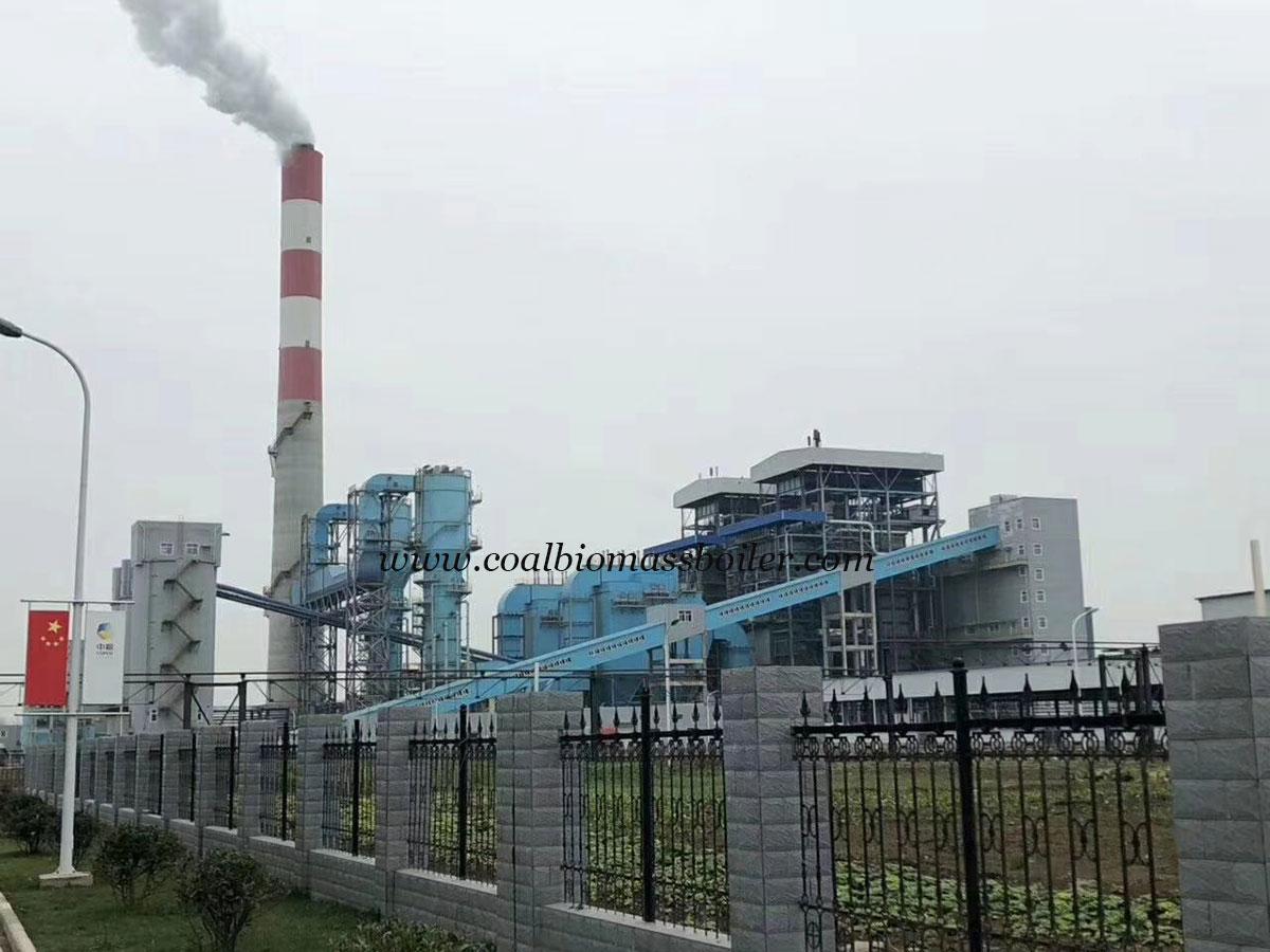 Coal Power Plant Boiler Running in COFCO