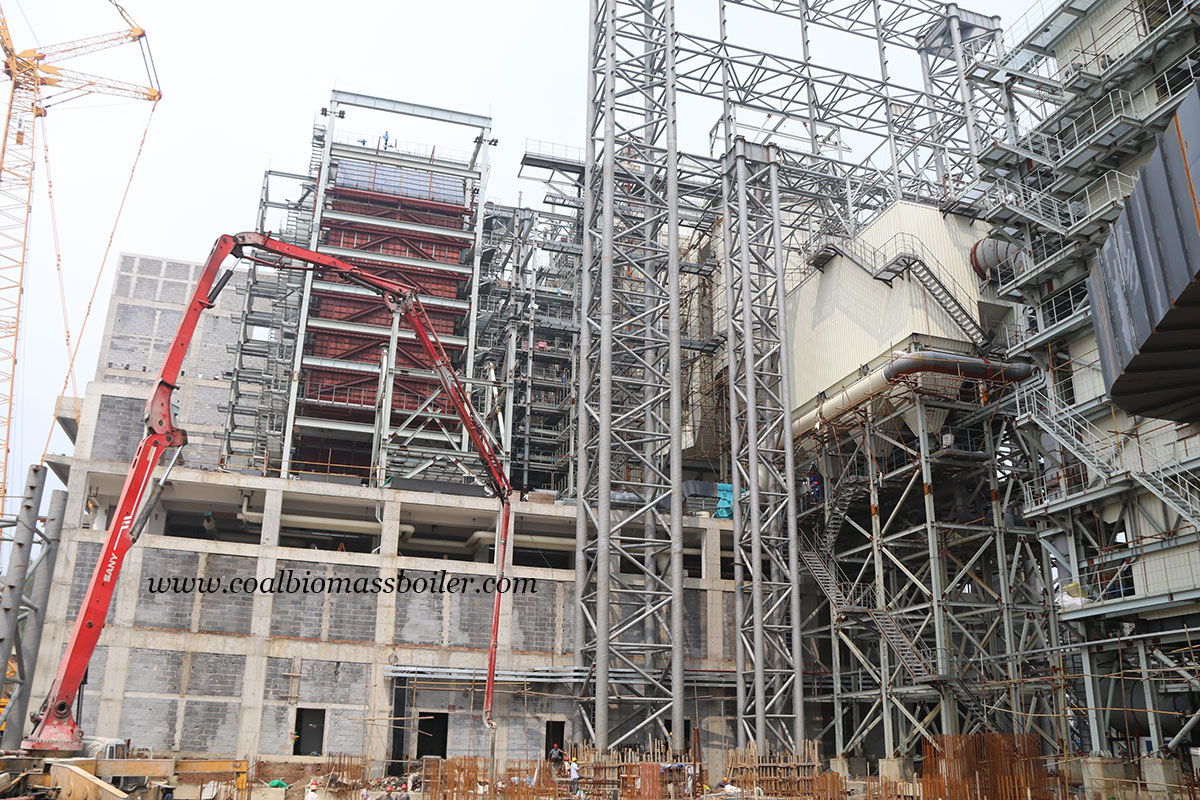 Two Sets of 600TPD Garbage Incinerators Running East China