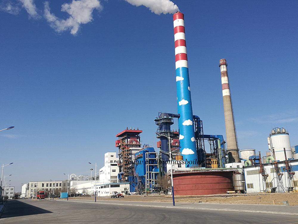 Visit Coal CFB Boiler User of Taishan Group