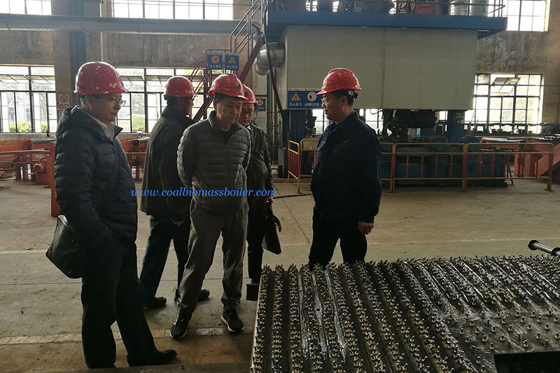 EFB Boiler User from Malaysia Visited Taishan Group