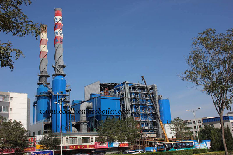 Pulverized coal boiler operating in East China