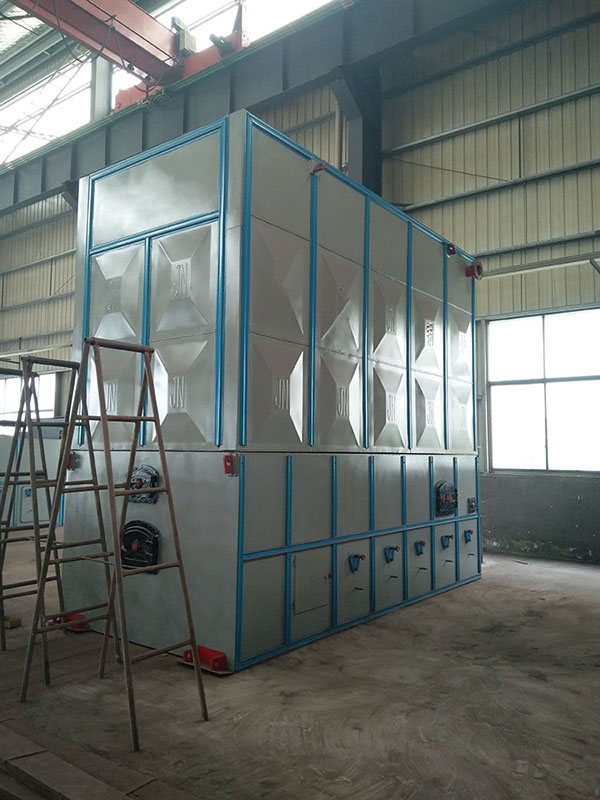 Coal Fired Hot Oil Boiler Exported to Indonesia